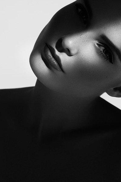 schwarz weiß Beauty Fotografie