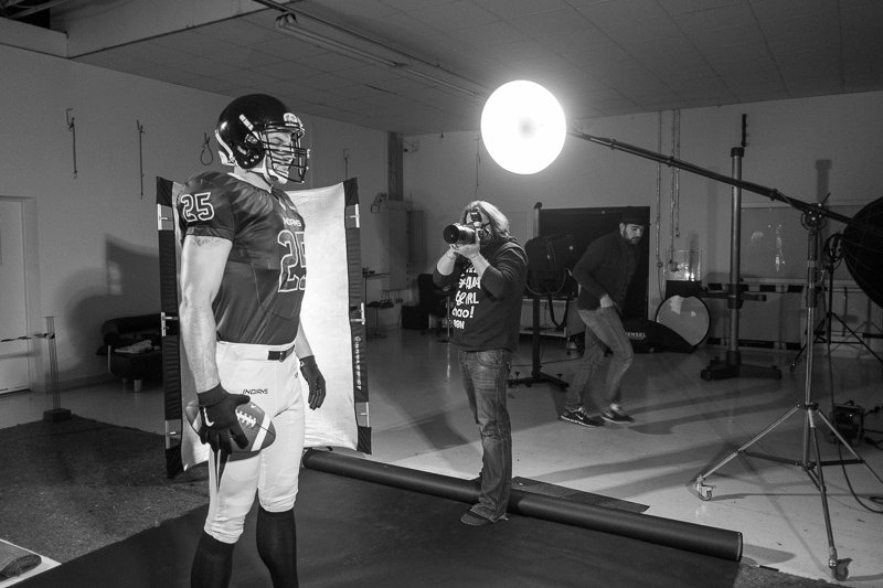 Sportfotografie making of