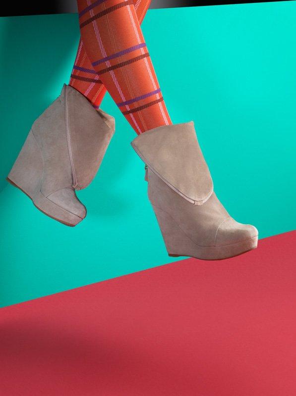 Schuhe und Farbe - Werbefotografie