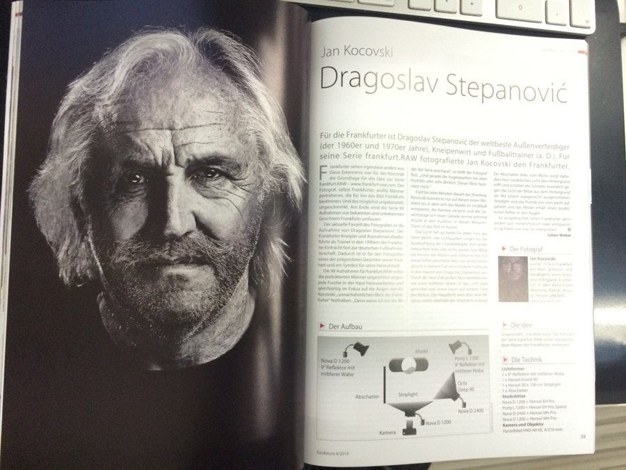 Portrait Fotografie Stepi Stepanovic