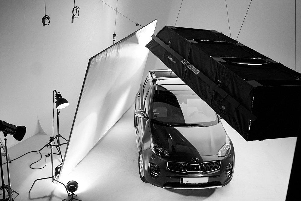 Auto Fotografie im Studio